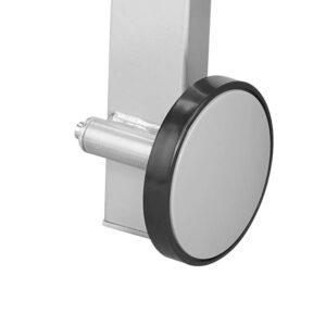 Fahrbarer Kundenstopper Konvex gebogen im Format DIN A1
