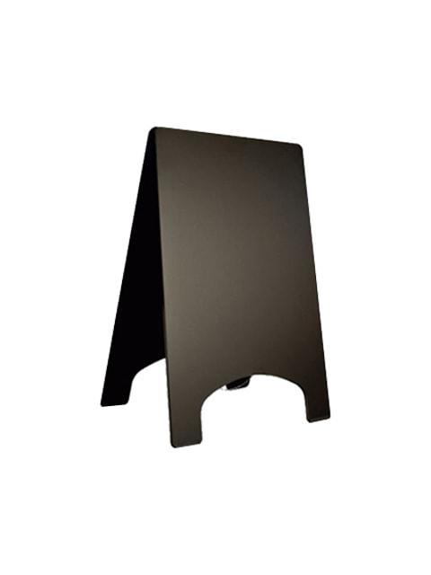 Holz Kundenstopper Piccolo, schwarze Kreidetafel, Kundenstopper für Bars, Kundenstopper aus Holz