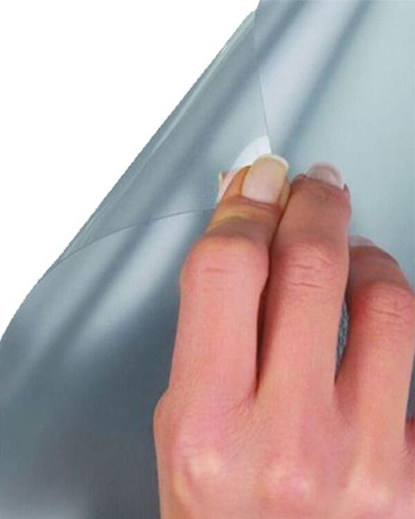 Kundenstopper Antireflex UV Schutzfolie, Schutzfolie für Kundenstopper