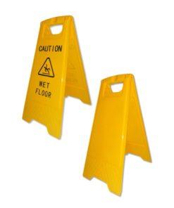 Kundenstopper Attention, PVC Kundenstopper, Achtung Kundenstopper