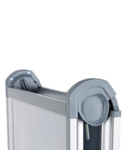 Kundenstopper Easy DIN A1, Seitenansicht, Kundenstopper aus Aluminium