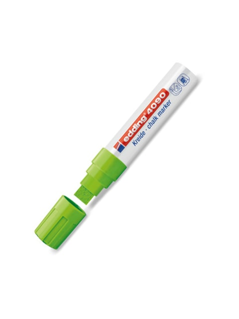 Edding Kreidemarker-Set mit 15mm Spitze, hellgrün