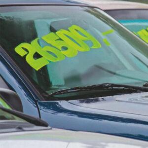 Fenster Kreidemarker Edding als Set 7-15mm Strichbreite, Edding Kreidemarker gelb für die Beschriftung von Autoscheiben