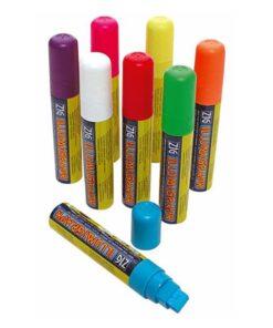 ZIG Kreidemarker-Set mit 15mm Spitze, Flüssigkreidemarker, Kreidemarker verschiedenfarbig