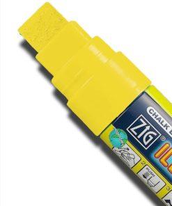 ZIG Kreidemarker mit 15mm Spitze, gelb