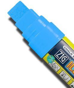 ZIG Kreidemarker mit 15mm Spitze, hellblau