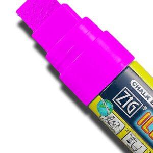ZIG Kreidemarker mit 15mm Spitze, pink