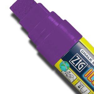 ZIG Kreidemarker mit 15mm Spitze, violett
