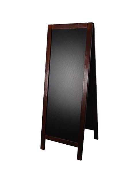 holz kundenstopper 158x59cm wetterfest xxl werbeaufsteller. Black Bedroom Furniture Sets. Home Design Ideas