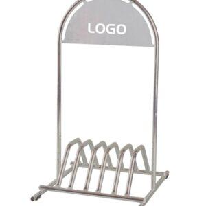 Kundenstopper Stahlrohr Basic Fahrradständer