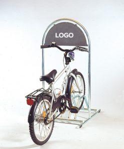 Kundenstopper Stahlrohr Basic Fahrradständer, Inspirationsfotos