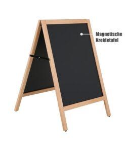 Magnetischer Holz Kundenstopper 107x50cm, wetterfest