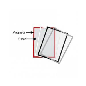 magnetische Antireflex UV Schutzfolien für Holz Kundenstopper mit magnetischer Kreidetafel