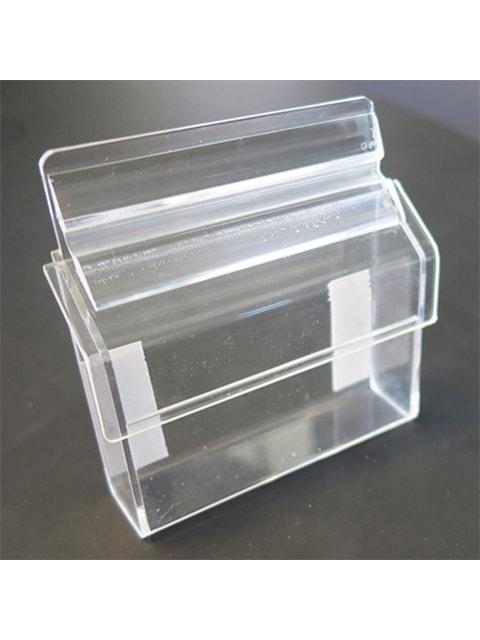 Visitenkartenbox aus Acryl für das Anbringen an der Wand oder Schaufenster