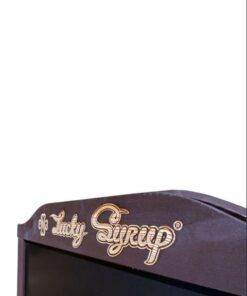 Kundenstopper gravieren, Holzaufsteller graviert mit Logo