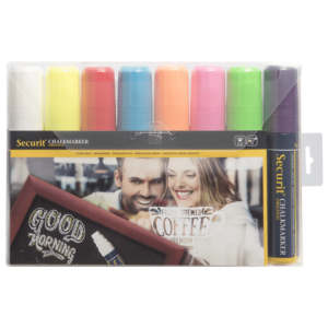 dicke Kreidemarker farbig im 8er Set, Kreidestifte 7-15mm für das Beschriften von Kreidemarker und Kundenstopper