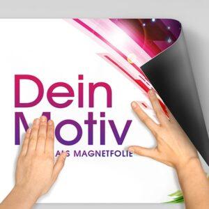Magnetfolie geeignet für Kundenstopper als Wechselwerbung