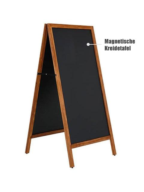 Magnetischer Holz Kundenstopper wetterfest