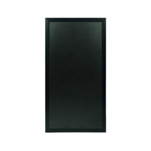 Aufstellbare Kreidetafel in Schwarz, Sichtschutz Kundenstopper für Restaurants