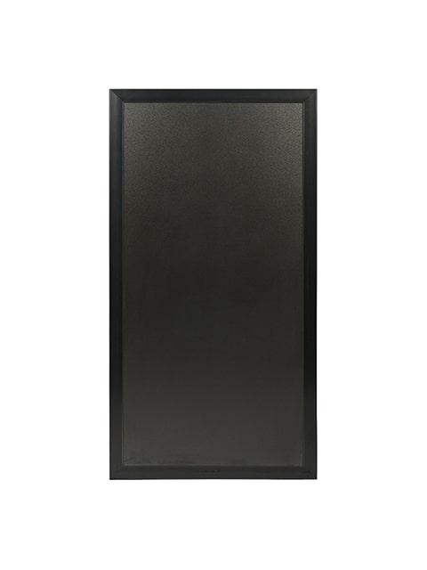 Multiboard Kundenstopper Kreidetafel, schwarzer Rahmen