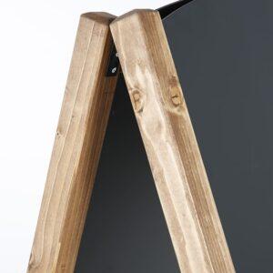 Scharniere für zum auf und zuklappen des Kundenstoppers aus Holz mit magnetischer Tafelfläche