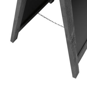 Abstandsketter A-Aufsteller aus Holz